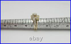 1CT Pear Diamond Solitaire Engagement Wedding Bridal Ring Band 14K Yellow Gold