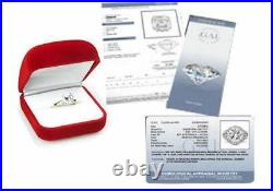 CERTIFIED 1.00ct F/VS2 ROUND DIAMOND SOLITAIRE ENGAGEMENT RING 14K GOLD