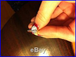 Oval Shaped Diamond Solitare Ring 1.60 carats